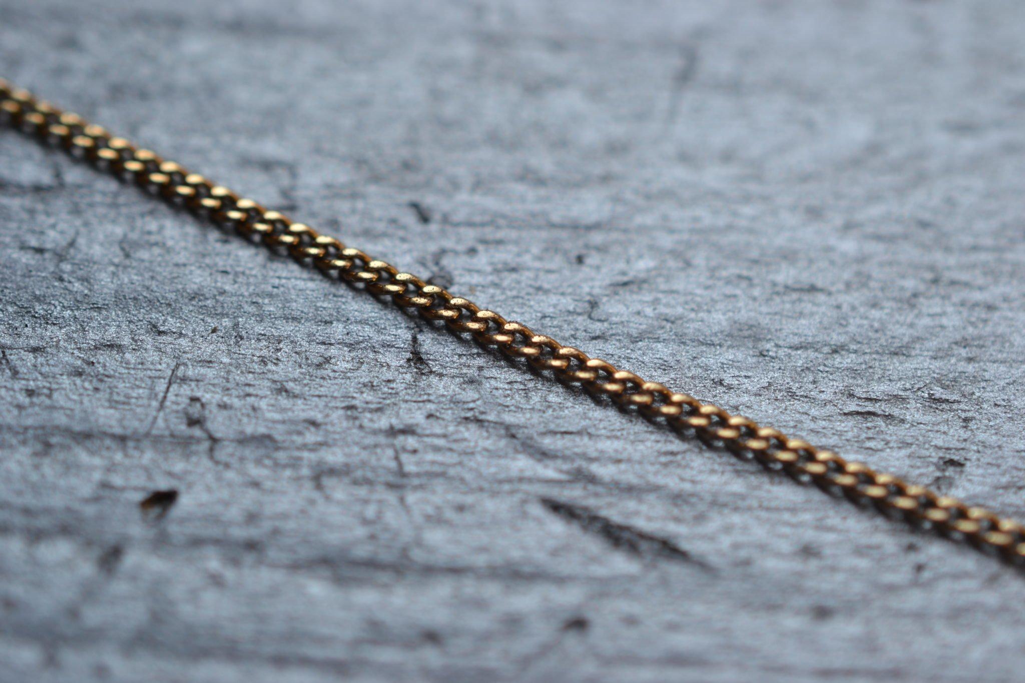 Chaine 44cm (maille Gourmette)