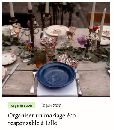 Noir Carat mariage ecoresponsable