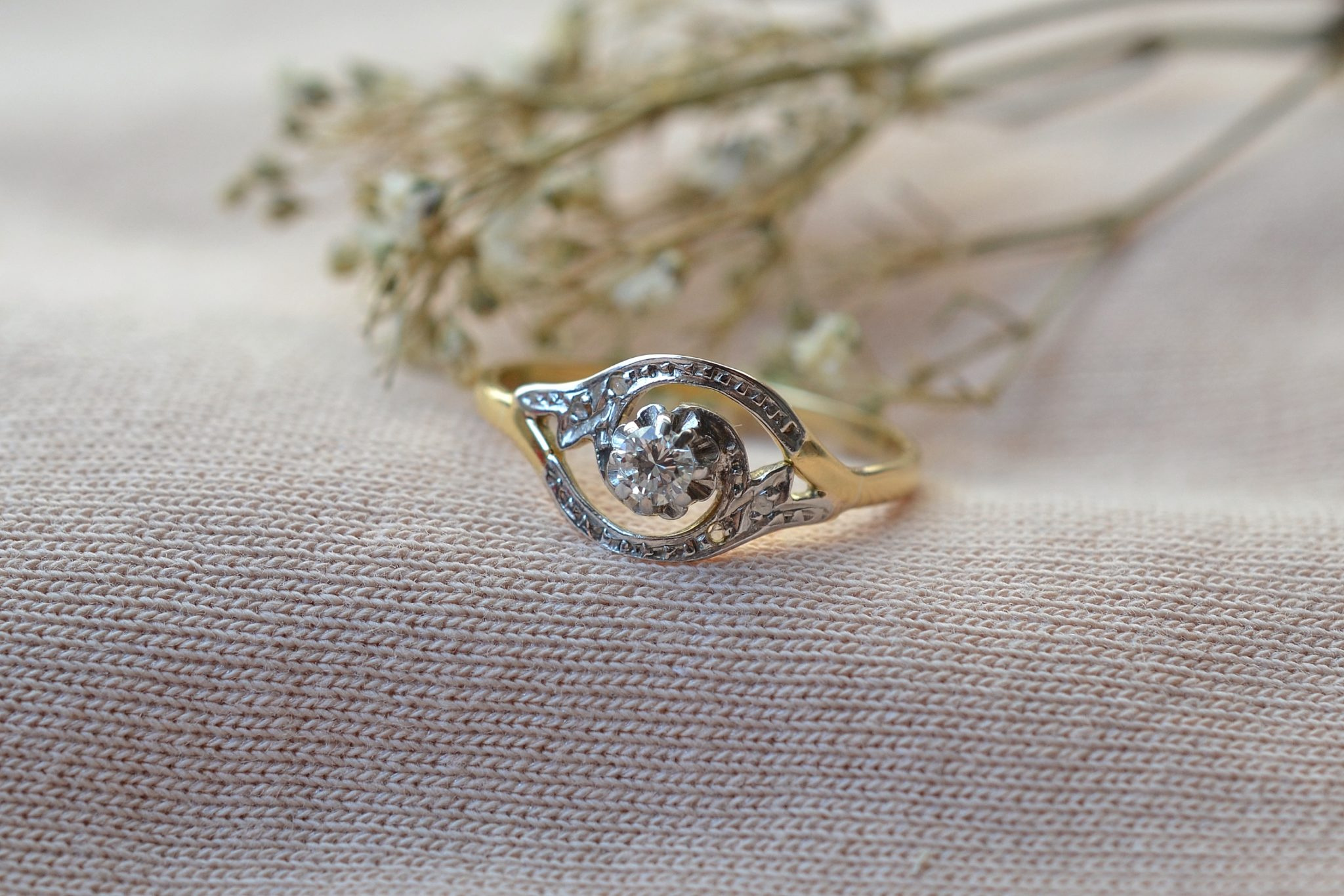Bague Tourbillon Diamants