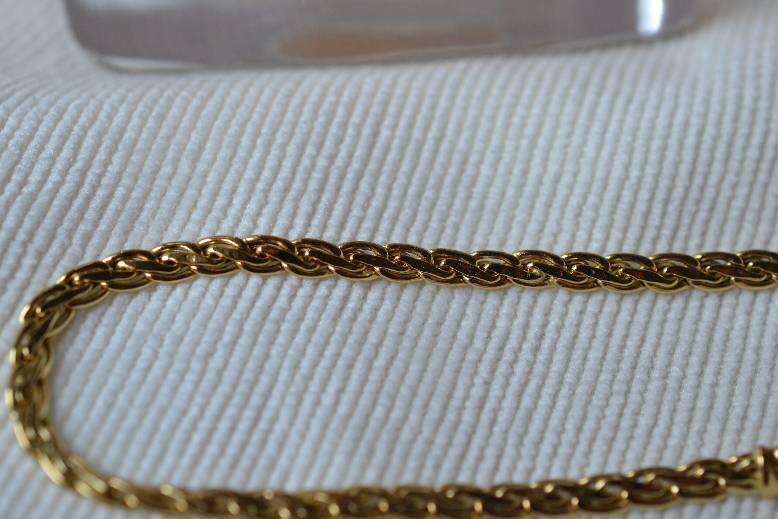 bracelet maille bijou ethique et ecoreseponsable