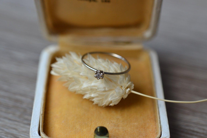 Fine Bague Diamant