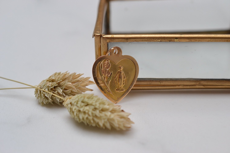 Médaille Coeur Vierge Marie