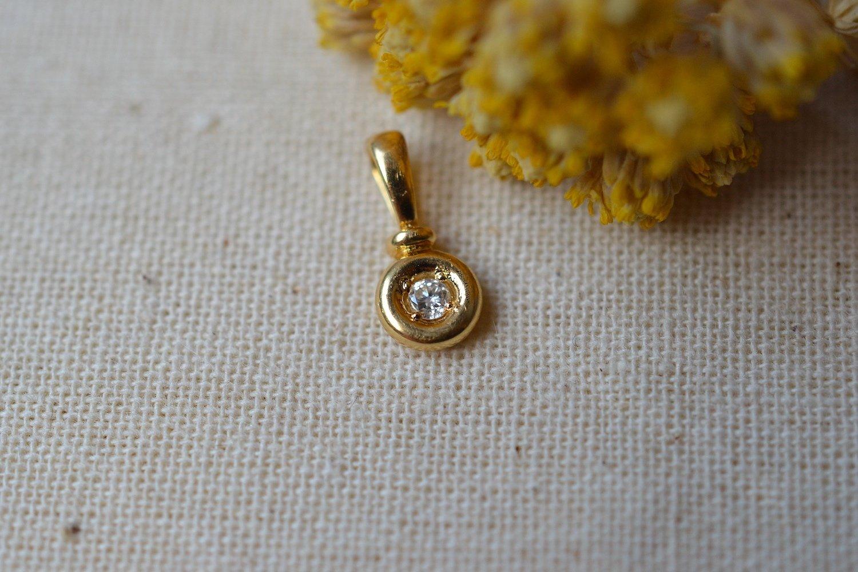 Pendentif Rond Diamant