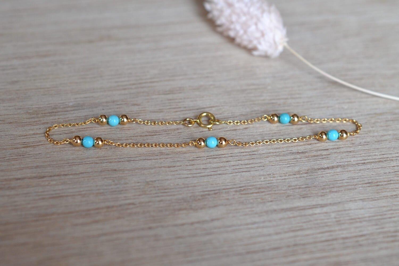 Bracelet 5 Turquoises